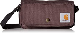 Carhartt Legacy Women's Essentials Crossbody Bag and Waist Pouch, Wine