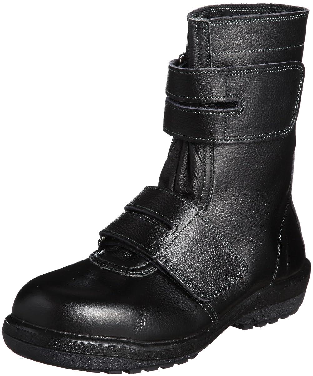 トイレベストカーテン安全靴 JIS規格 マジックタイプ 長編上靴 ラバーテック RT735