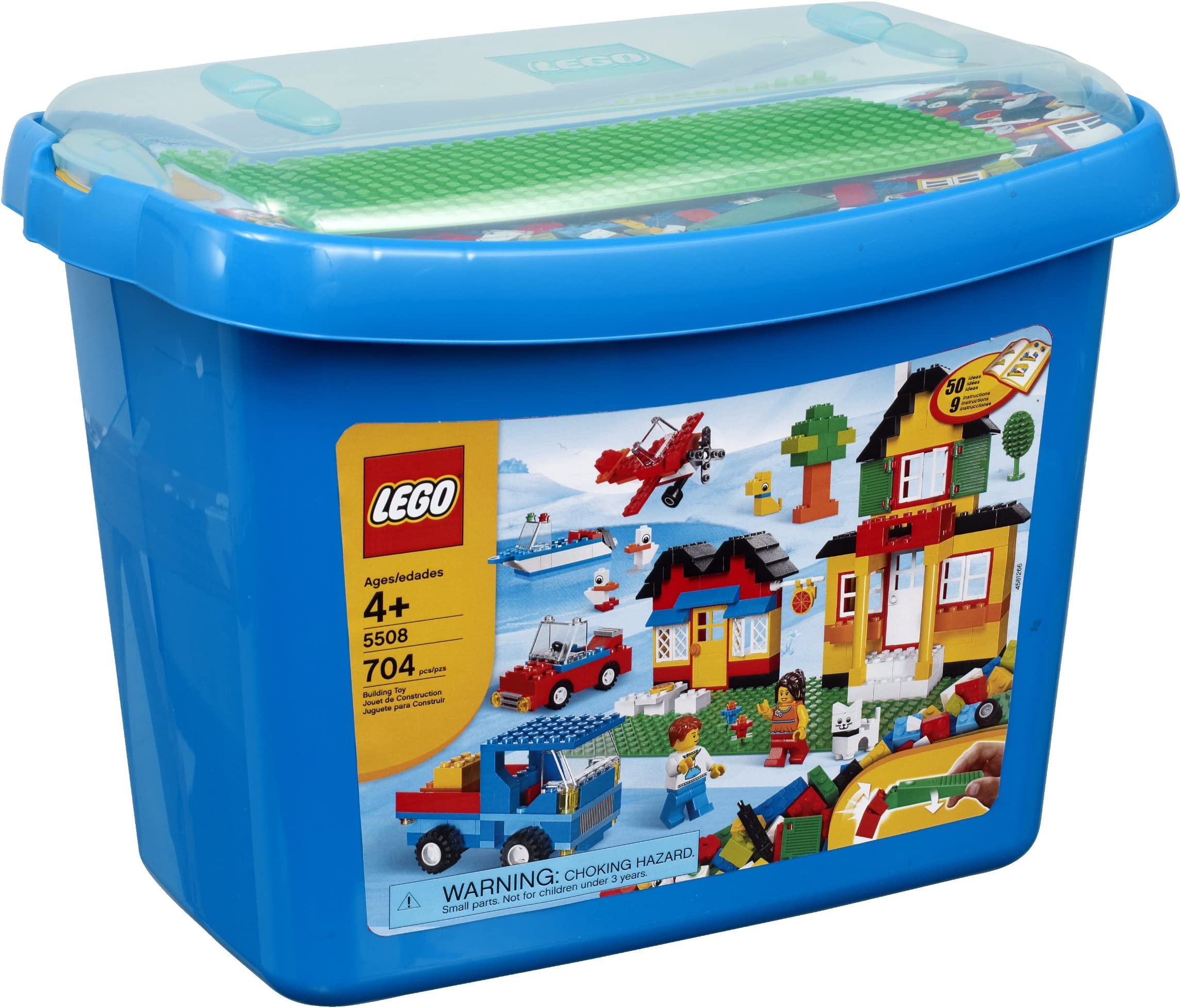 Lego 50 New Assorted Plates Various Colors 1x2 1x4 1x6 1x8 Dot More Pieces