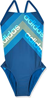 adidas Womens FIT 1PC LIN Swimsuit