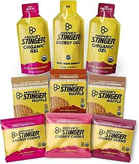 Honey Stinger Gluten Free Training Kit – 9 Count Plus Sticker – Energy Source for Any Activity – 3 Gluten Free Waffles, 3 ...