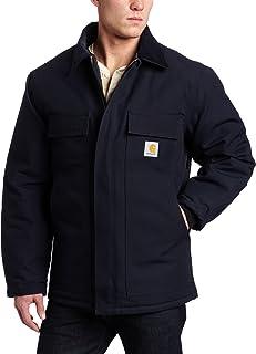 Carhartt Men's Arctic Quilt Lined Duck Traditional Coat C003,Brown