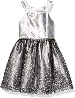 Emily West Girls Floral Lace Pleated Chiffon Dress Kids size 12 16 NEW