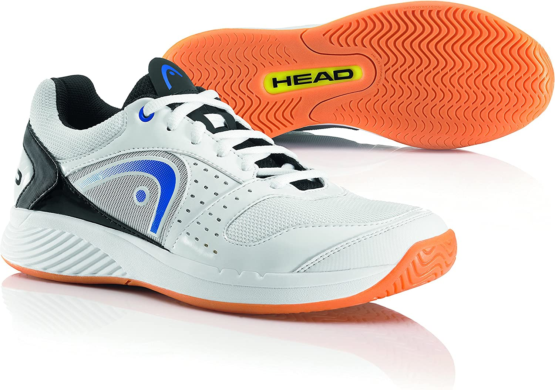 HEAD Sprint Team Indoor Men's Indoor Court shoes, White bluee Black, US13