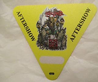 1989-91 Aerosmith Backstage Pass Aftershow Yellow Devil Pump Tour