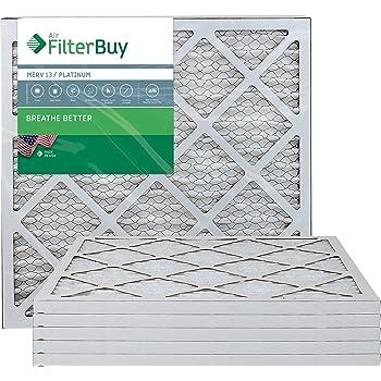 Nordic Pure 20x22x1 Exact MERV 13 Tru Mini Pleat AC Furnace Air Filters 1 Pack