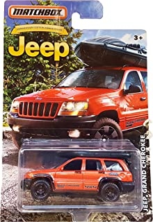 Matchbox Jeep Grand Cherokee Anniversary Limited Edition Metallic Orange Die-cast