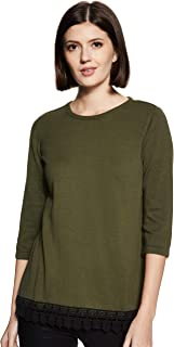 ABOF Women's Pullover (BOA18AWWWSW2155424_Olive_Small)