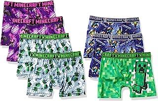 Minecraft Boys' Underwear Multipacks, Minecraft7pkath Bxrbr, 8