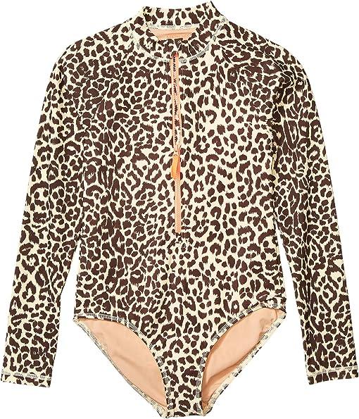 Lana Leopard Dusty Taupe