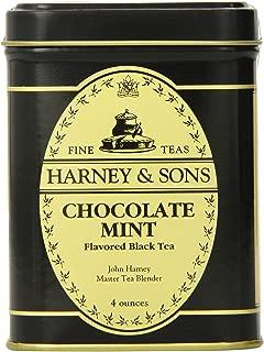 Harney & Sons Loose Leaf Black Tea, Chocolate Mint, 4 Ounce