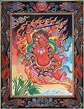Superfine Two-Armed Mahakala -Tibetan Buddhist Thangka Without Brocade - Tibetan Thangka Painting