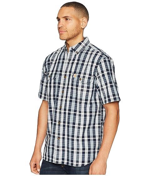 marino corta Plaid Fort manga azul camiseta Carhartt UqZCPw