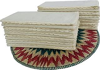 Best frayed edge linen napkins Reviews