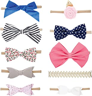 Bows and Headbands - 10 Pack