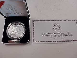 2003 First Flight Centennial Commemorative Coin Proof Silver Dollar $1 Mint State US Mint