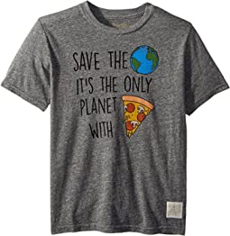 Save The Earth Short Sleeve Vintage Tri-Blend Tee (Big Kids)