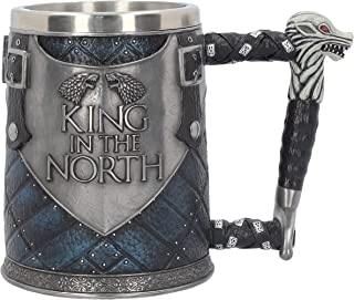 Nemesis Now King of The North Tankard - Collectible Big Game of Thrones Mug -Wolf Winter is Coming