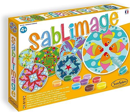 SABLIMAGE - MANDALAS ANIMAUX