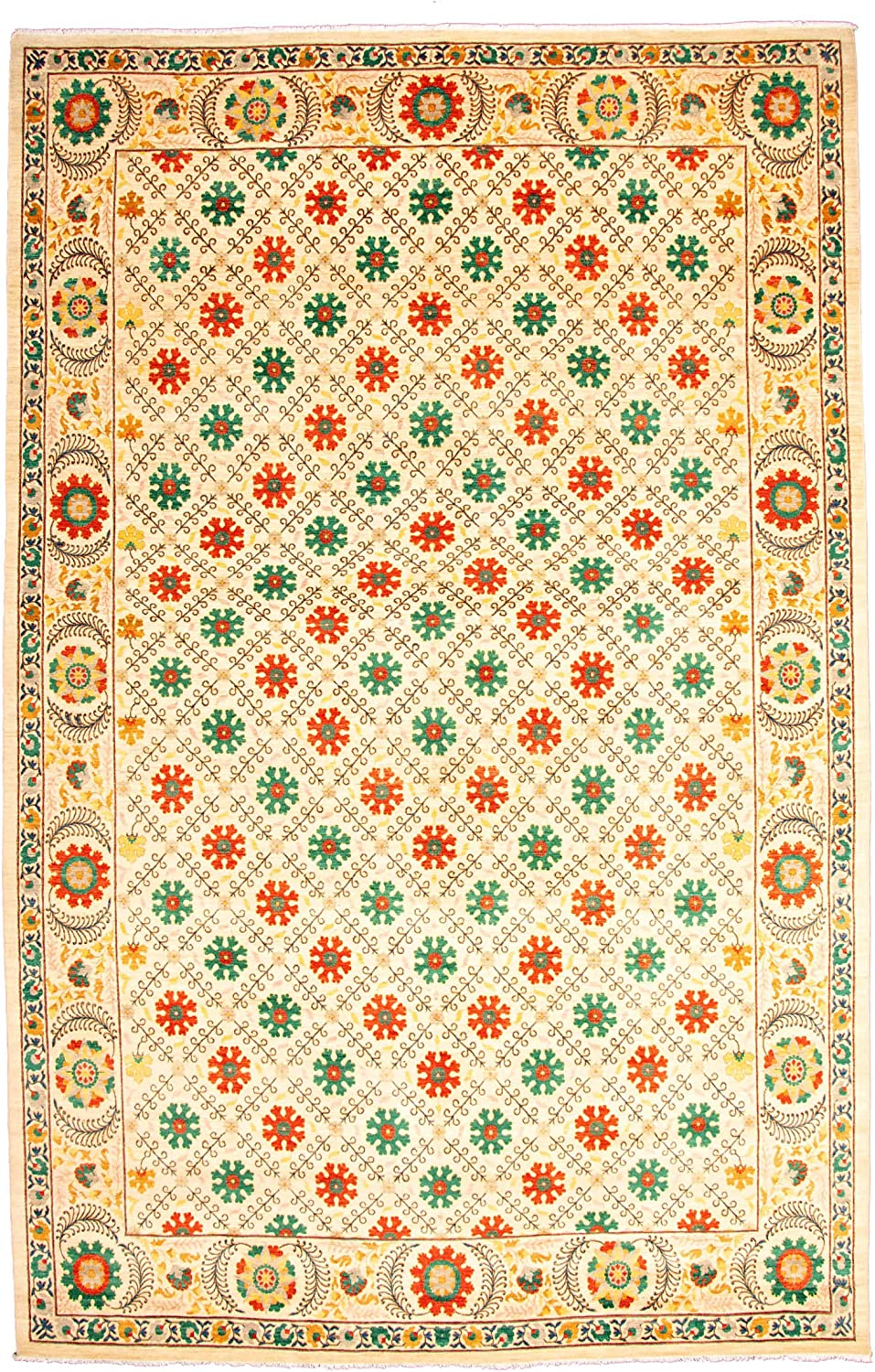 eCarpet Gallery Large Area Rug Hand-K Bedroom Living Gorgeous Online limited product for Room