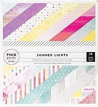 pink paislee scrapbook paper