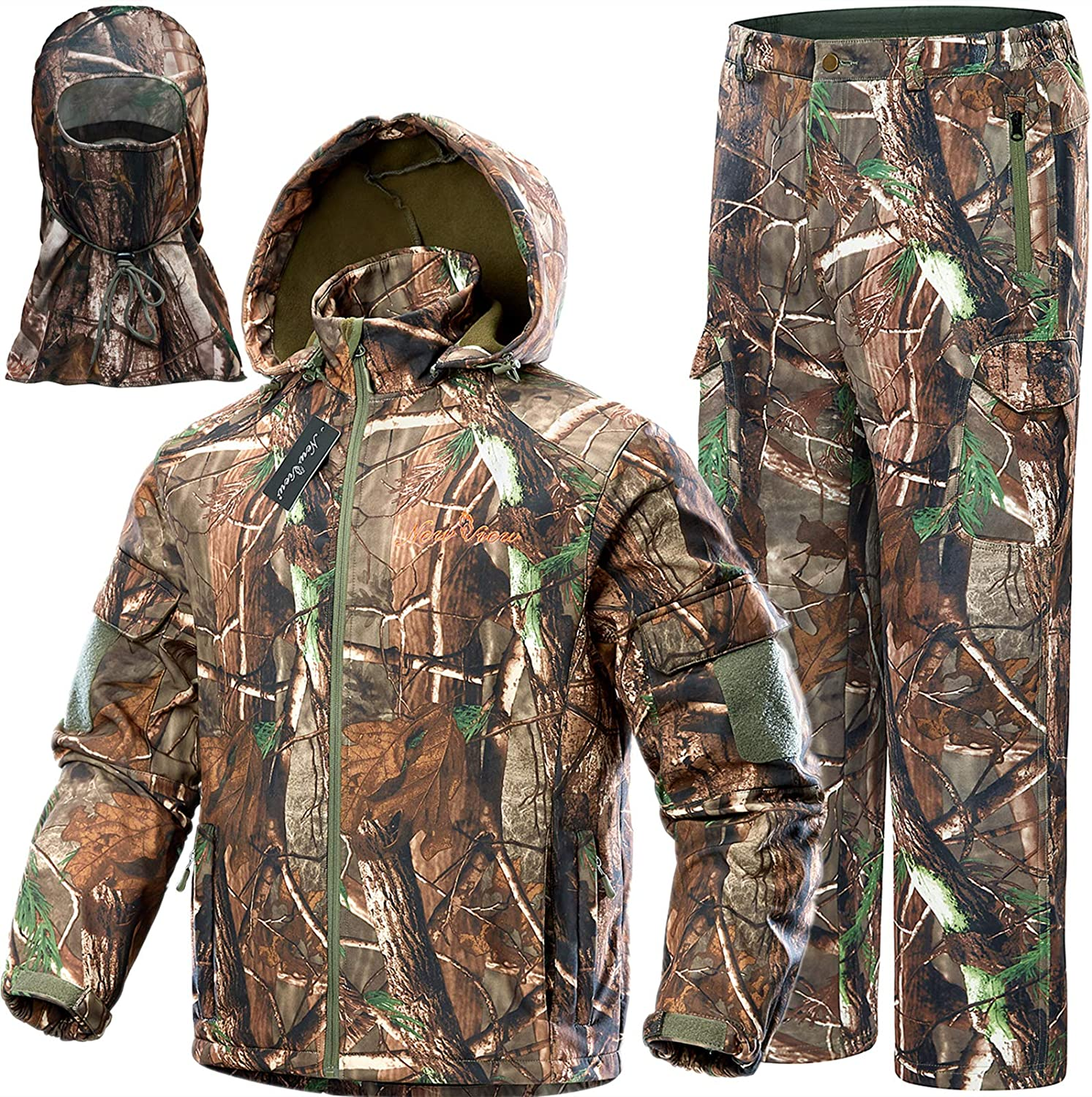 NEW VIEW Upgraded Hunting Clothes for Men,Silent Water Resistant Hunting Suits,Turkey Hunting Jacket and Pants, Hunting - Amazon Canada