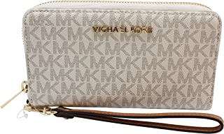 Michael Kors Women's Jet Set Travel Multifunction Phone Case