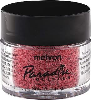 Mehron Makeup Paradise AQ Glitter (.25 oz) (RED)