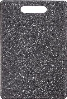 Zeller 26056 snijplank graniet-look, kunststof, ca. 30 x 20 x 0,8 cm