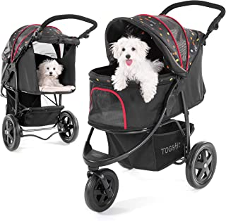 TOGfit Pet Roadster – Luxus Hundewagen & Haustier Buggy bis 32 kg –..