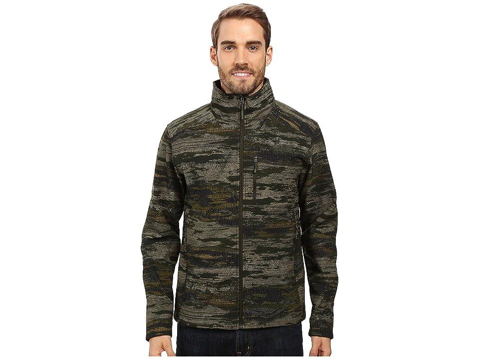 The North Face Apex Bionic 2 Jacket (Rosin Green Glamo Print (Prior Season)) Men