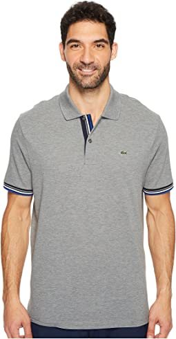Short Sleeve Semi Fancy 2 Ply Pique Polo - Slim Fit