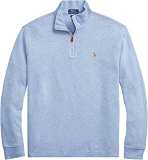5d4d73c5d Polo Ralph Lauren Mens Half Zip French Rib Cotton Sweater (XX-Large