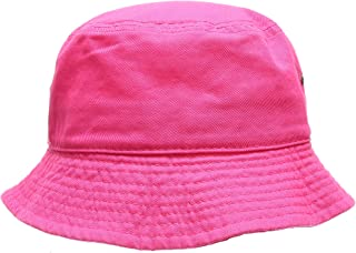 Summer 100% Cotton Stone Washed Packable Outdoor Activities Fishing Bucket Hat.