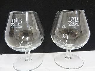 B&B Cognac Liqueur Snifter Glass Set