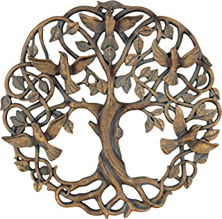 Old River Outdoors Tree of Life/Birds of Peace Wall Plaque 11 5/8