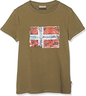 K Seitem New Olive Green Camiseta para Niños