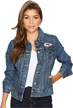 Levi's® Womens - Chiefs Sport Denim Trucker