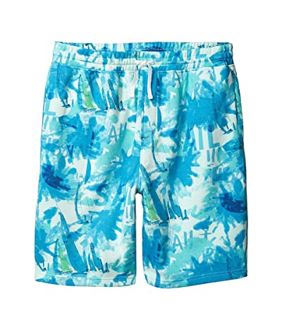 Nautica Big & Tall Big Tall Knit Shorts (Blue) Men