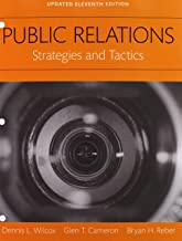 REVEL for Public Relations: Strategies and Tactics Books a la Carte Edition Plus REVEL -- Access Card Package (11th Edition)