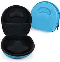 DURAGADGET Hard Blue EVA Headphone Shell Case - Suitable for Chambers by RZA Wesc Premium & Street Headphones