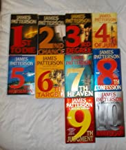 James Patterson - The Women's Murder Club - Set Of 10 Books.