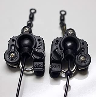 R&R Tackle R2 Outrigger Clips Set of 2 - The World's Most Advanced Outrigger, Kite, and Downrigger Fishing Clip