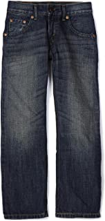 Levi's Boys' Little 505 Regular Fit-Jeans, Roadie, 7x Slim
