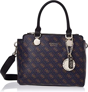 GUESS Womens Aline Status Satchel Bag