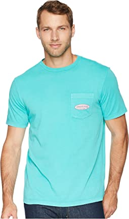 Short Sleeve Surf Logo Pocket Tee