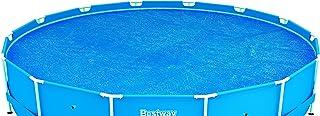 Bestway 58172 - Cobertor solar Manta Térmica para piscinas Steel Pro redondas de 457 cm de diámetro