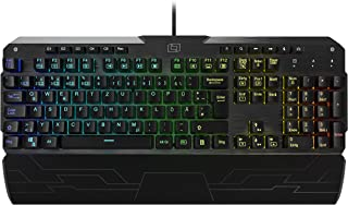 Lioncast lk300 Gaming Teclado mecánico (16.8 Millones de Colores, red Switches, software la programación, LED, USB, QWERTZ) negro LK300