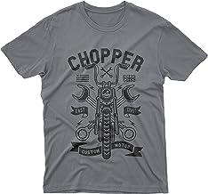 fm10 t-Shirt Maglietta Chopper Moto Chiavi Motocicletta Motocross Motori