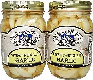 Amish Wedding Foods Sweet Pickled Garlic 2 - 15 oz. Jars